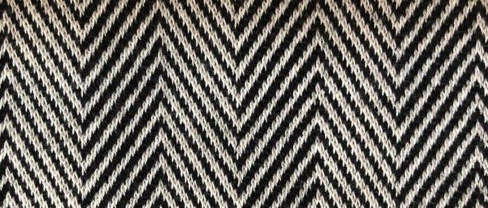 zigzag jakar kumas zikzak desen 1