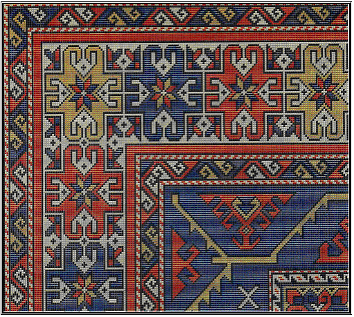 Osmanli saray hali desen1