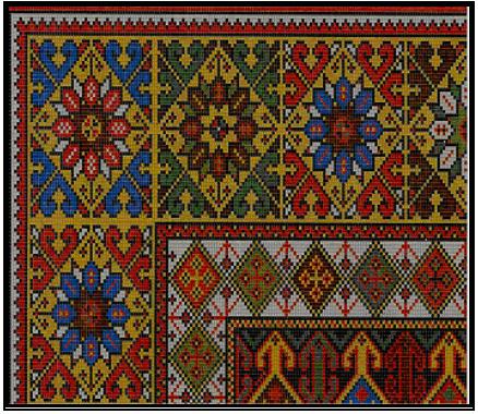 Osmanli saray hali desen2