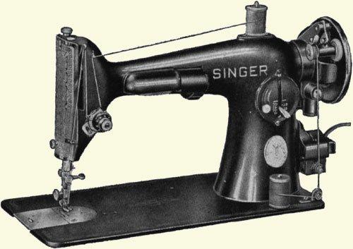 ilk dikis makinesi