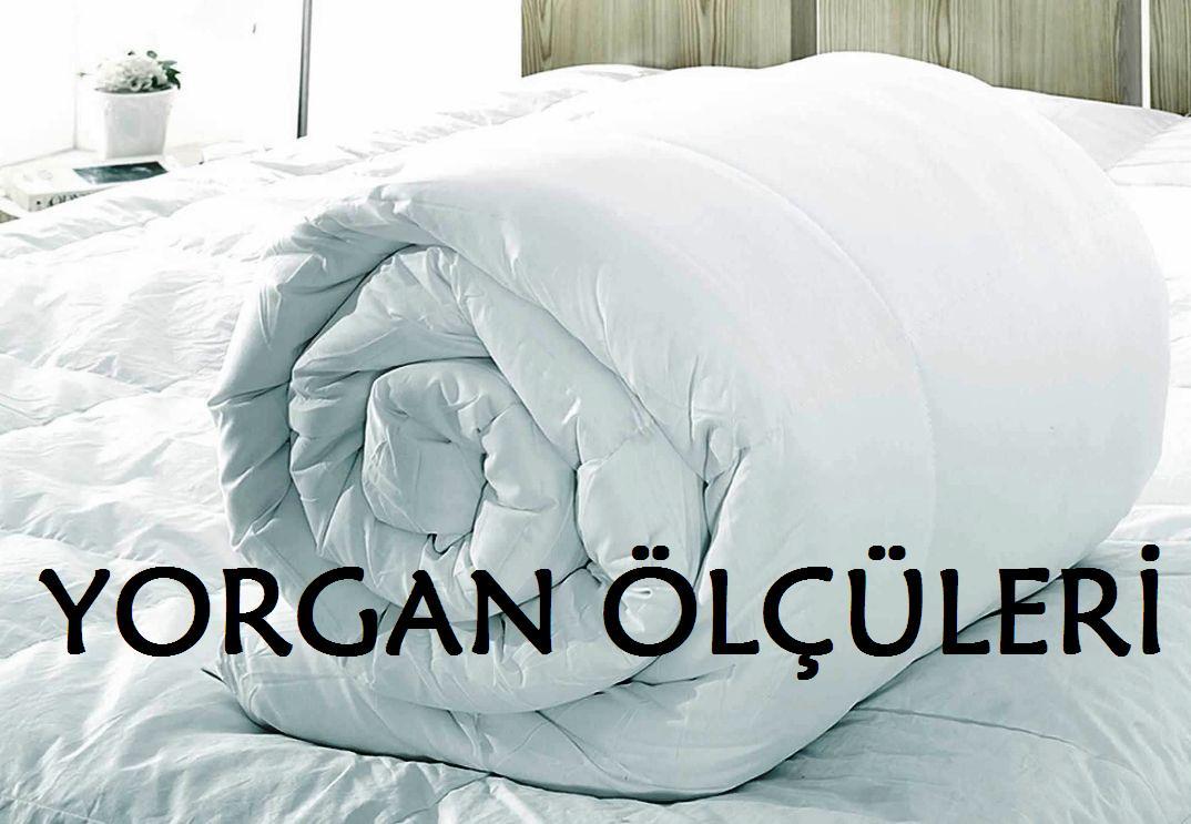 yorgan olculeri