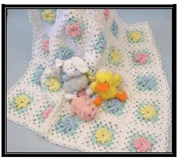 Tigla orulmus bebe battaniyesi