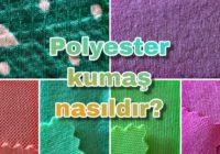 polyester kumas cesitleri