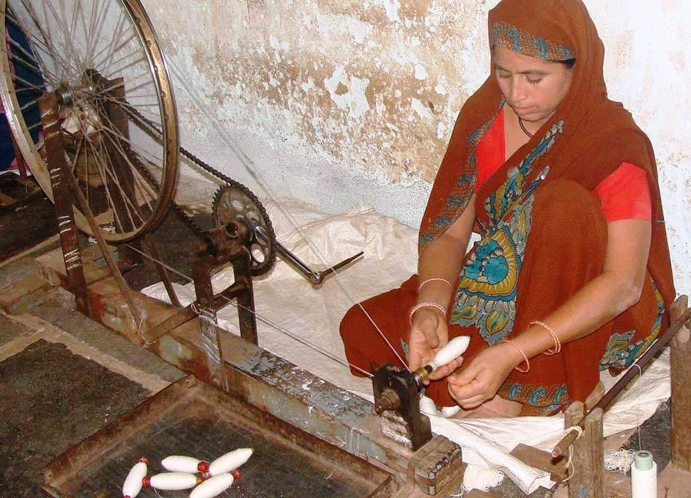 khadi fabric produce